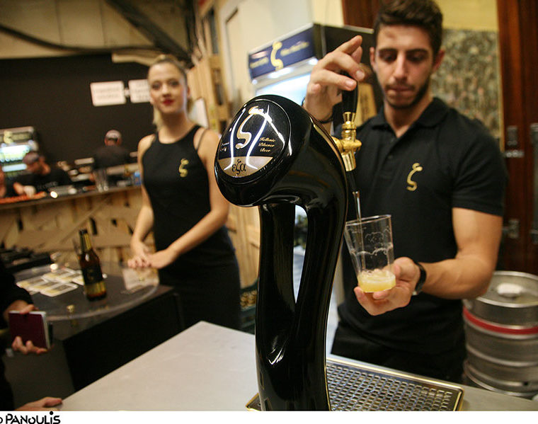 Greeks and Germans bond over beer making training courses 8