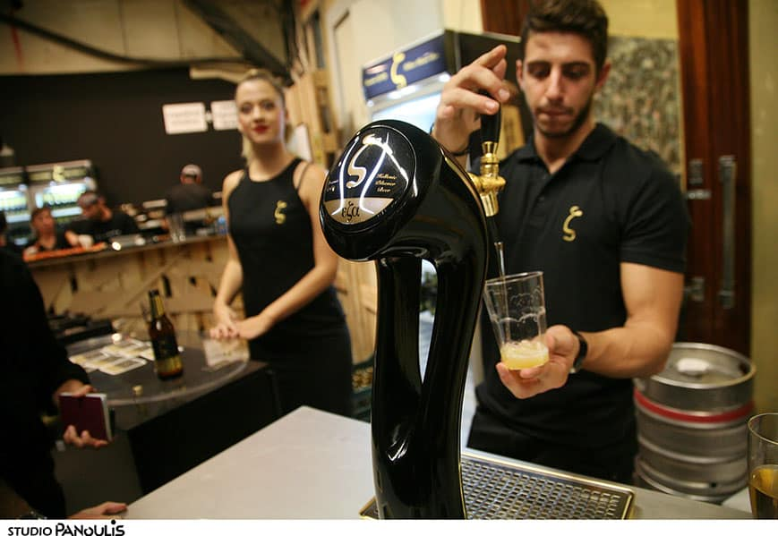 Greeks and Germans bond over beer making training courses 2