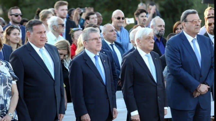 Greek President declares start of 59th International Olympic Academy (IOA) Session for Young Participants 7