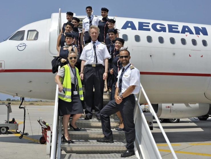 Aegean Airlines celebrates 20 years of flying 8