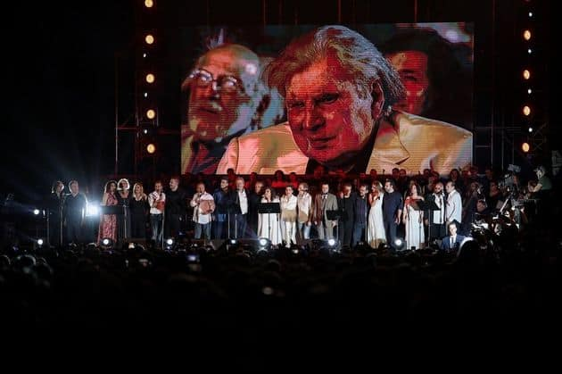Spectacular tribute To Mikis Theodorakis: You are Greek! What you were once will be again 5