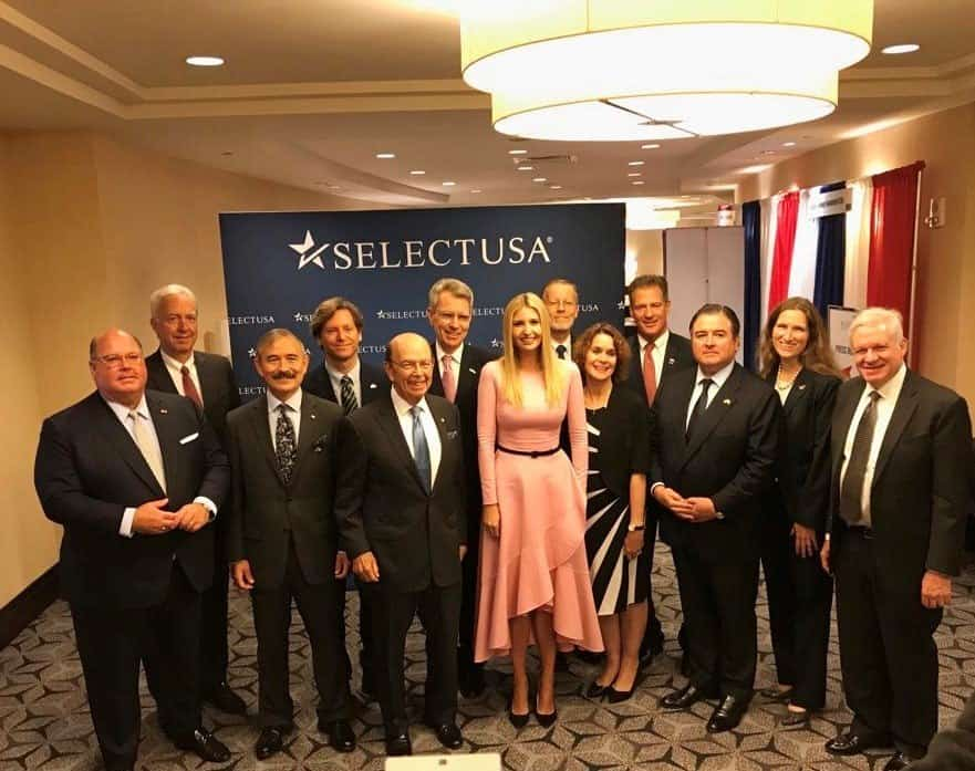 US Ambassador leads Greek executives to USA investor summit 2