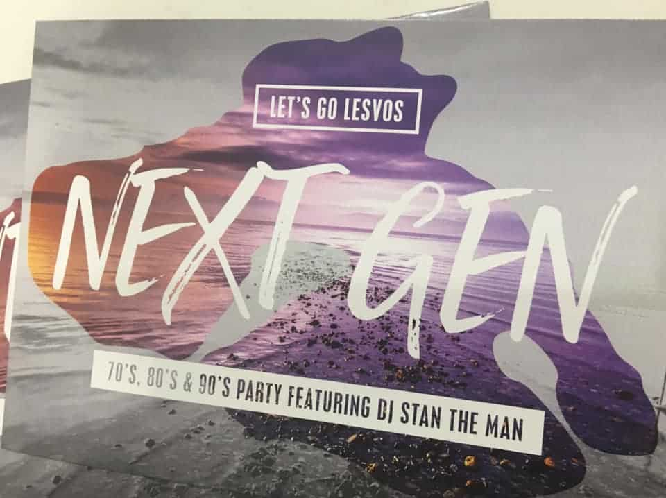 Lesvos goes Retro for Gen Next Party 5