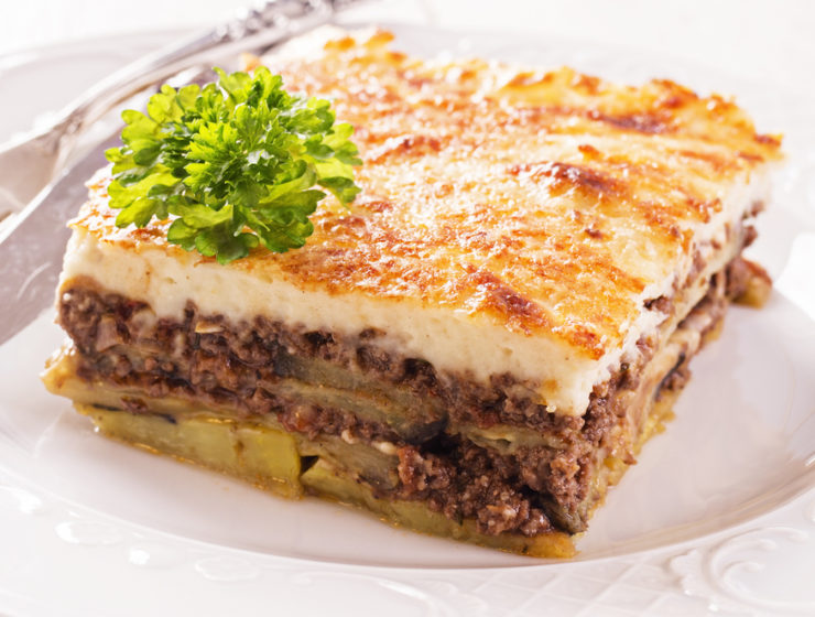 Traditional Homemade Moussaka recipe 14
