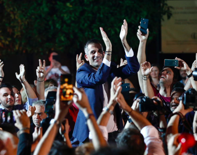 Huge victory for Kostas Bakoyannis, elected new Mayor of Athens 32