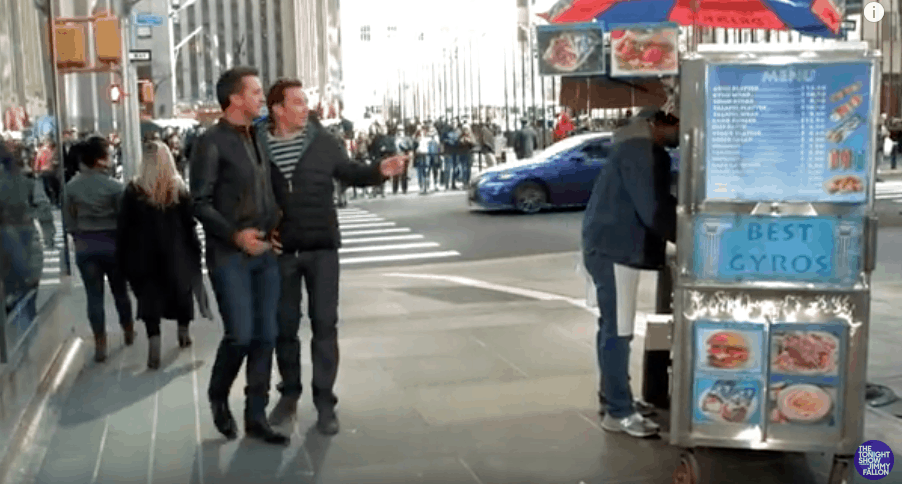 """Jimmy Fallon and Luke Bryan """"Don't Know How to Pronounce Gyros"""" (VIDEO) 1"""