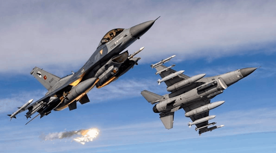 Turkish fighter jets violate Greek airspace 99 times 1