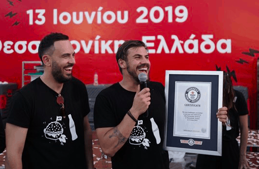 Greek celebrity chef cooks his way into the Guinness World Records 6