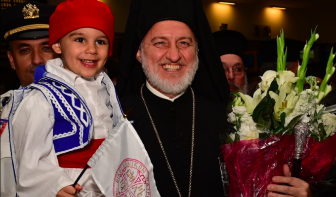 New Archbishop Elpidophoros arrives in the US 3