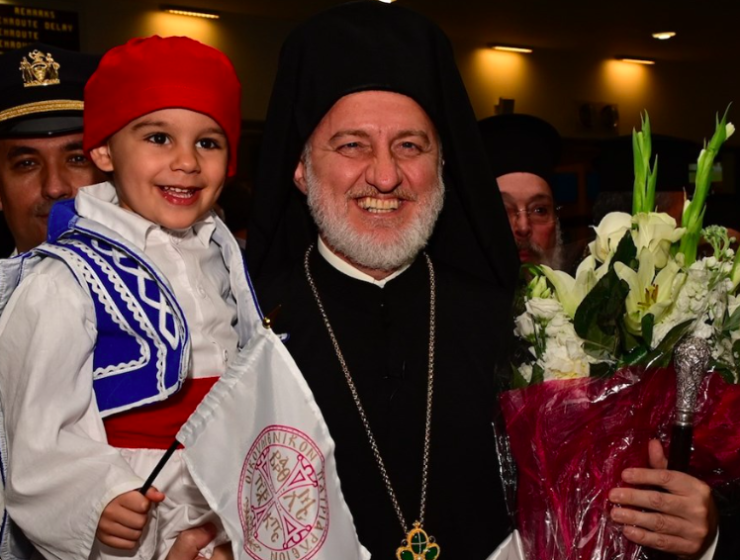 New Archbishop Elpidophoros arrives in the US 1