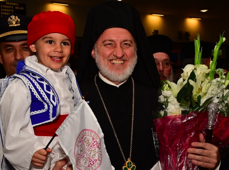 New Archbishop Elpidophoros arrives in the US 6