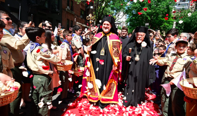 America's new Archbishop Elpidophoros enthroned in New York 2