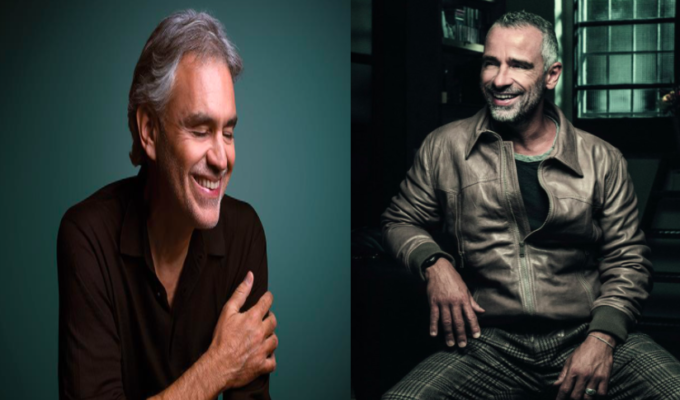 Italy's most popular artists Ramazzotti and Bocelli to perform in Athens 4