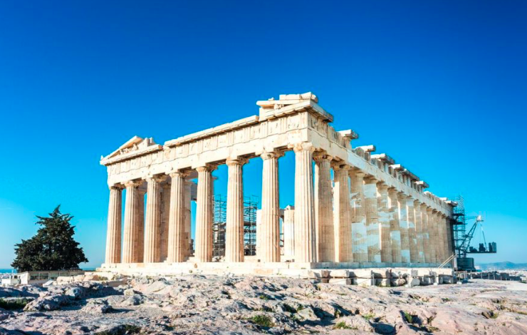Scientists claim the Acropolis is being threatened by climate change 9