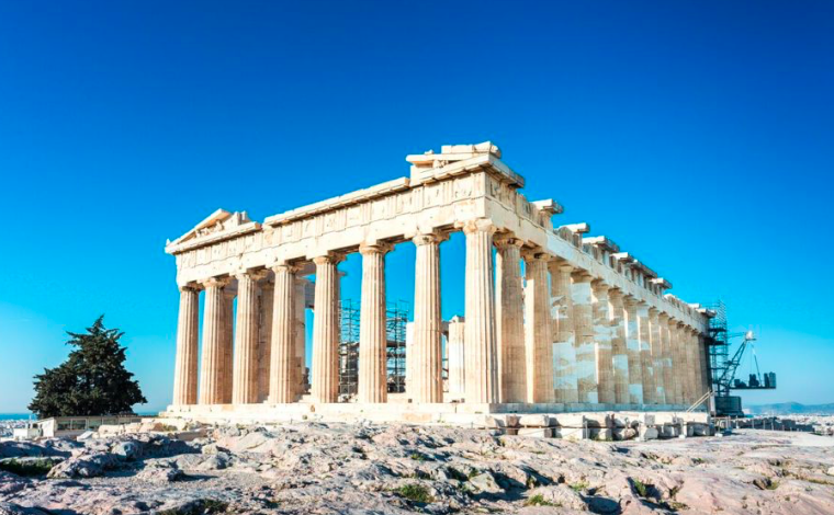 Scientists claim the Acropolis is being threatened by climate change 13