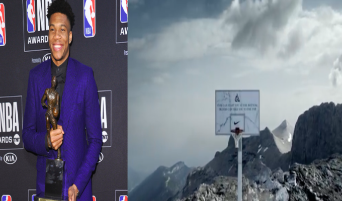 Nike honours 'Greek Freak' with basketball hoop on the top of Mount Olympus (VIDEO) 4