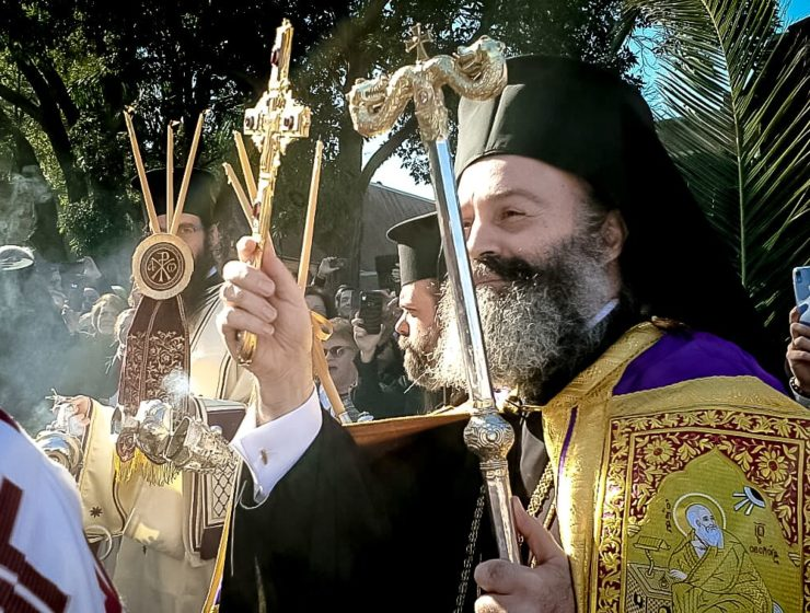 Full coverage of Australia's new Archbishop Makarios enthronement in Sydney (VIDEO) 59