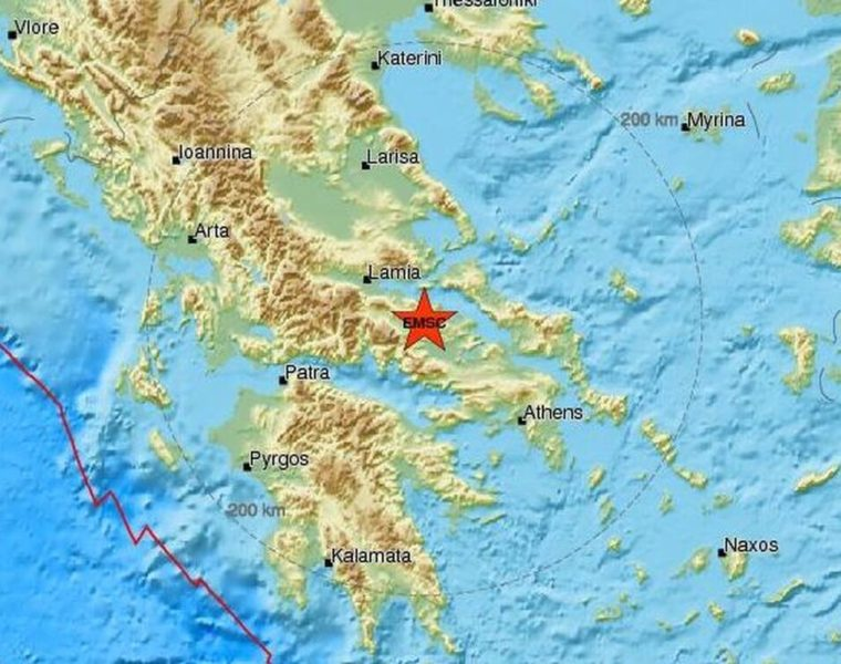 Earthquake in Central Greece shakes Athens 17