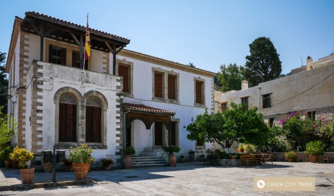Miraculous and Holy Monastery of Agios Georgios Epafonisis in Crete 3