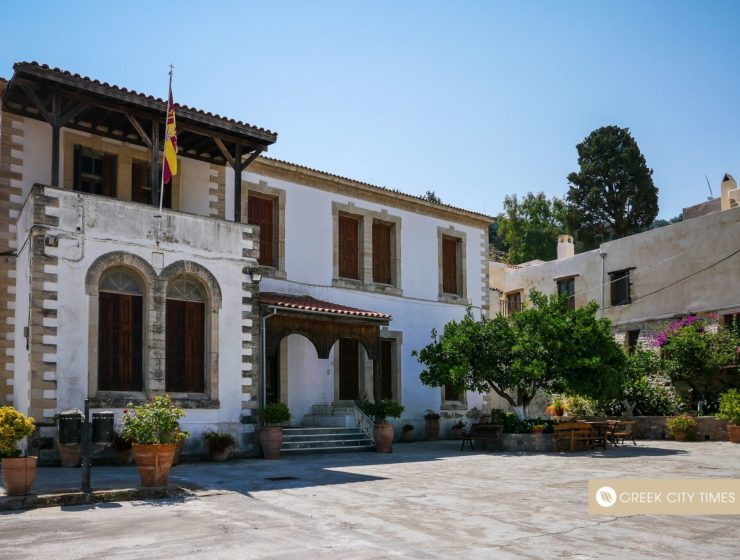Miraculous and Holy Monastery of Agios Georgios Epafonisis in Crete 22