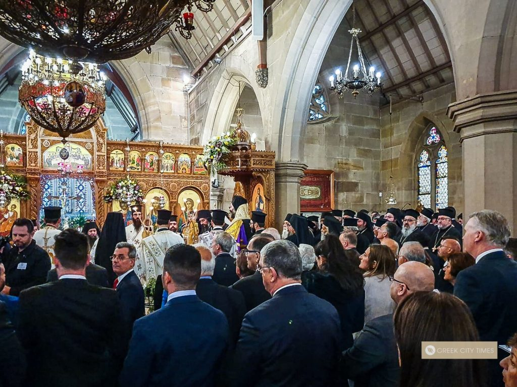 Full coverage of Australia's new Archbishop Makarios enthronement in Sydney (VIDEO) 17
