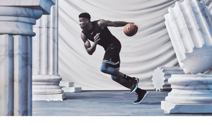 Giannis Antetokounmpo has his first signature shoe created by Nike 3