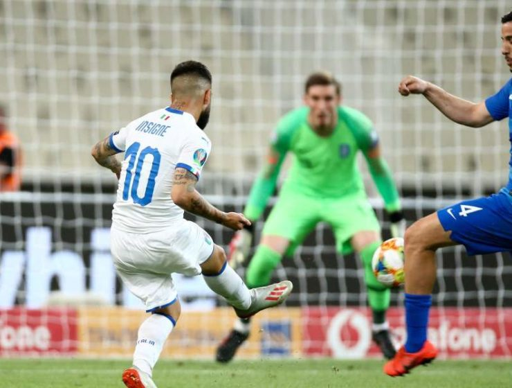 Italy dominate Greece in Euro 2020 Qualifier in Athens 24