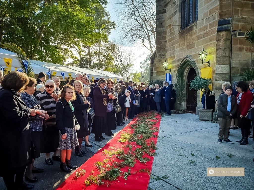 Full coverage of Australia's new Archbishop Makarios enthronement in Sydney (VIDEO) 13