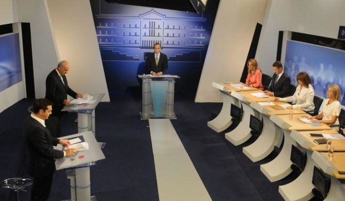 Pre-election TV debate among Greek political leaders cancelled 2