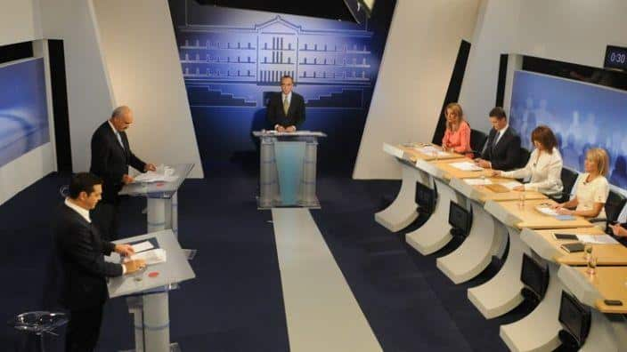 Pre-election TV debate among Greek political leaders cancelled 22