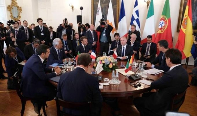 Greek PM raises Turkey's long standing provocations at 6th South EU Summit 5