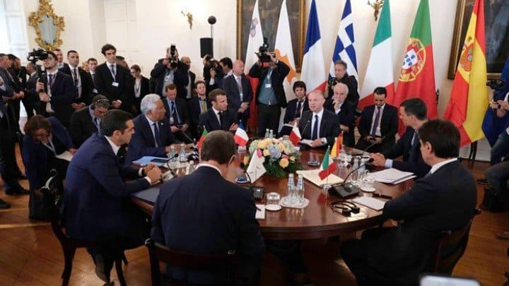 Greek PM raises Turkey's long standing provocations at 6th South EU Summit 1