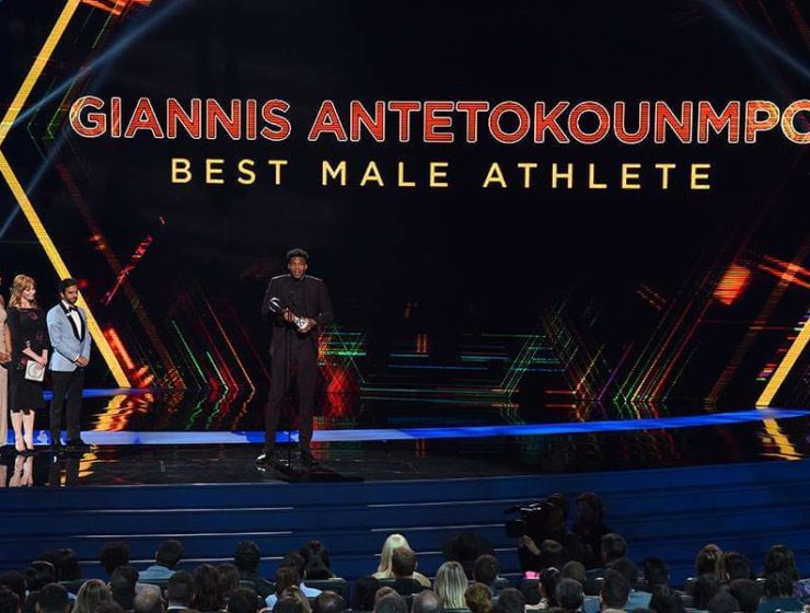 Giannis Antetokounmpo named Best Male Athlete and Best NBA Player 1