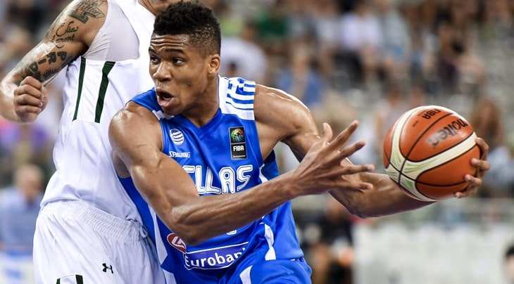 Giannis Antetokounmpo begins training with the Greek national team 5