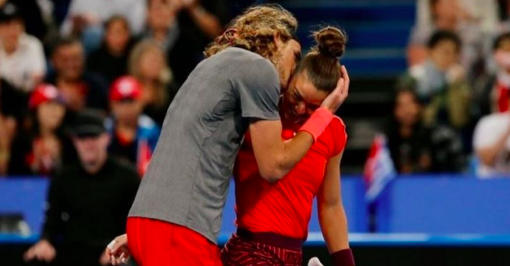 Romance rumours swirl that Sakkari and Tsitsipas are a 'secret couple' 11