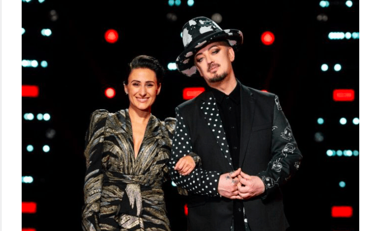 Boy George And Diana Rouvas