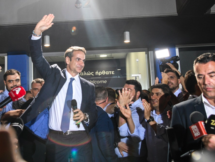 """ND's victory is a victory for every Greek,"" says new PM Mitsotakis 7"