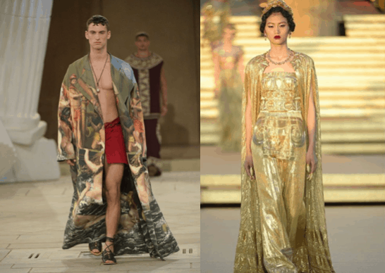 Dolce and Gabbana's new collection inspired by Ancient Greece 11