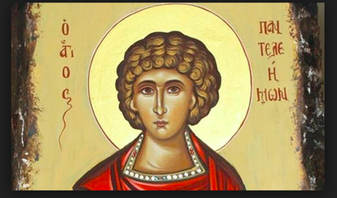 Feast Day of Agios Panteleimon, Great Martyr and Healer (live church service) 3
