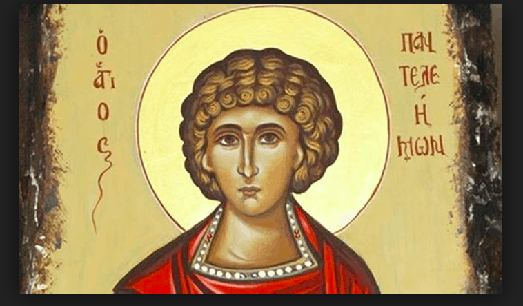 Feast Day of Agios Panteleimon, Great Martyr and Healer (live church service) 1