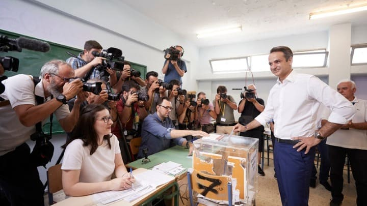 Greece goes to the polls 9