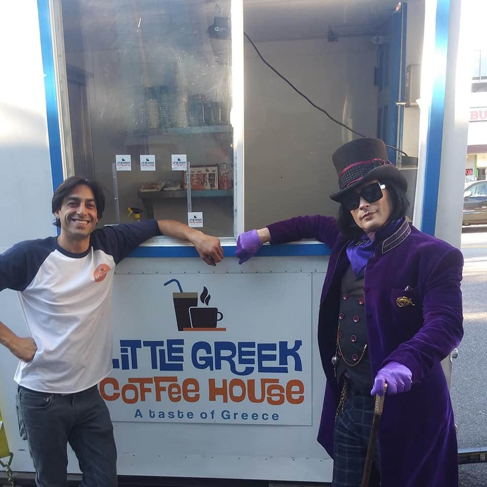 Cypriot owned coffee truck makes its debut in Los Angeles 3