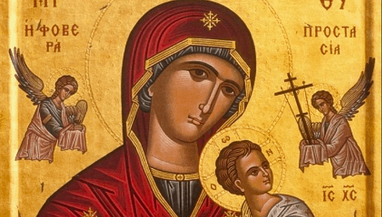 Month of August, dedicated to Panagia 16