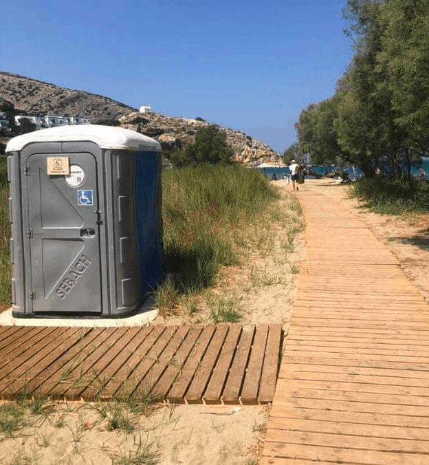 Beach on Syros, first in Greece with lifesaving Automated External Defibrillator 4