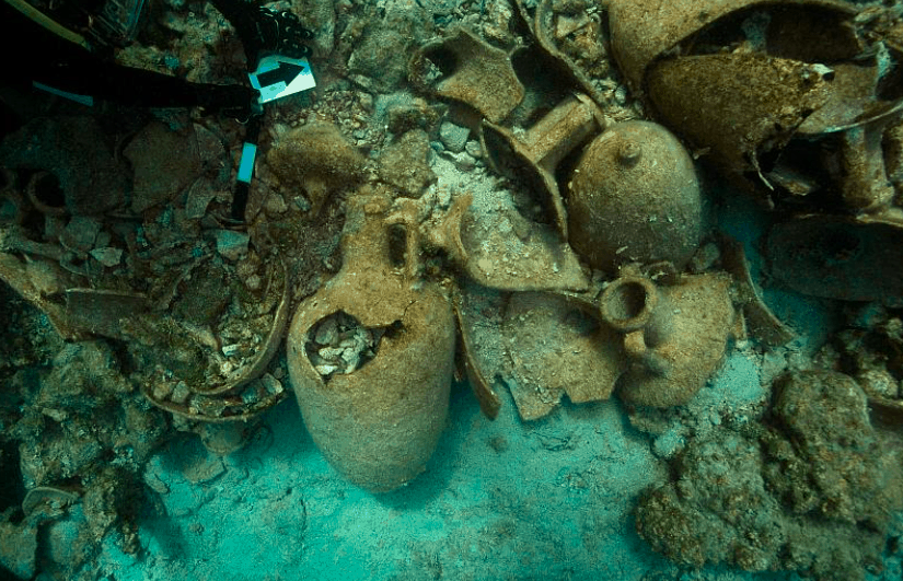 2000-year-old ancient shipwreck discovered in the Aegean Sea 4