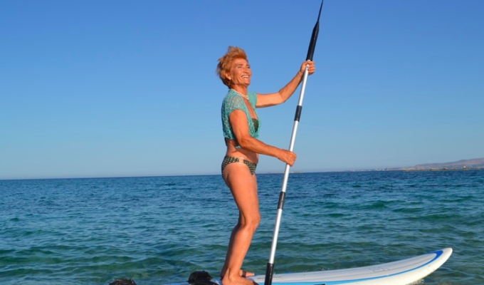 81-year-old windsurfer Yiayia set to break Guinness Book of Records 7