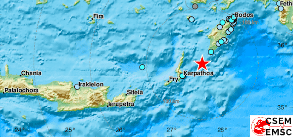 rhodes earthquake