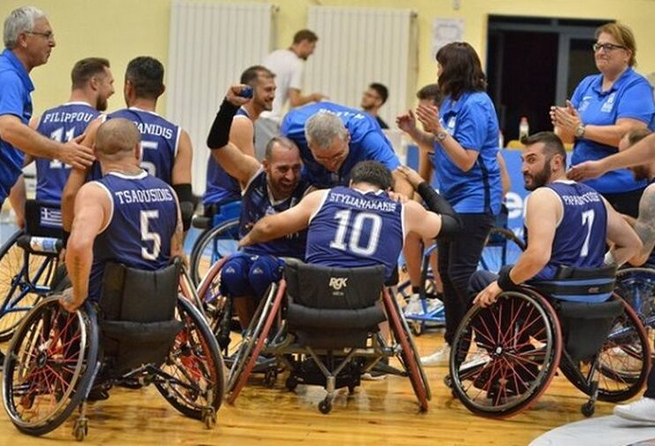 Greece crowned European Champions in Wheelchair Basketball 4