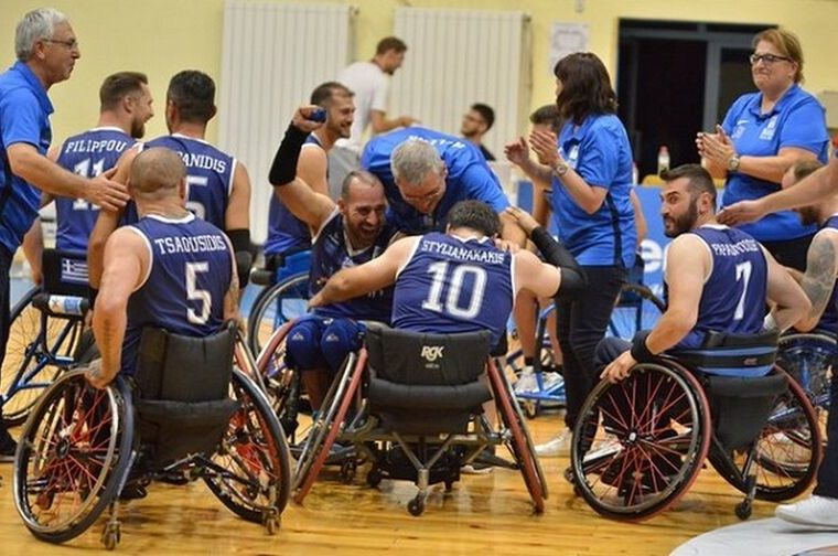 Greece crowned European Champions in Wheelchair Basketball 14
