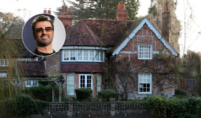 George Michael's 16th century house